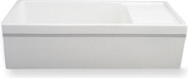 Whitehaus Collection Farmhaus Fireclay Sink traditional-kitchen-sinks