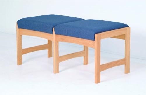 Dakota Wave Double Bench modern-upholstered-benches