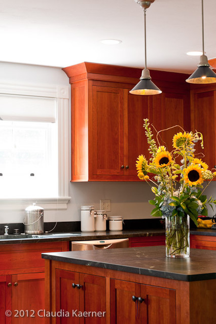 Four Square Home - addition & renovation traditional-kitchen