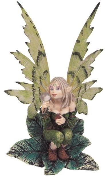 Fairy Collection Green Pixie Desk Decoration Figurine Collectible eclectic-decorative-objects-and-figurines