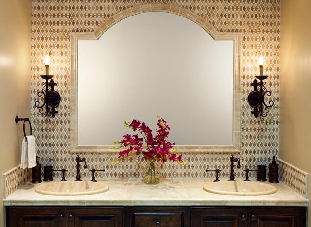 Jinshan Coffee Bone Diamonds traditional-bathroom