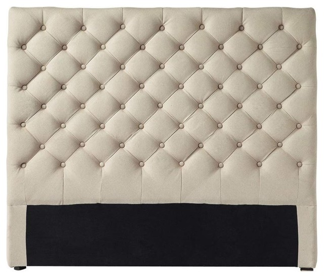 headboard chesterfield traditional headboards by. Black Bedroom Furniture Sets. Home Design Ideas