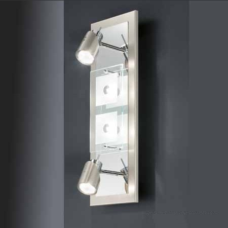 Domino modern wall sconces