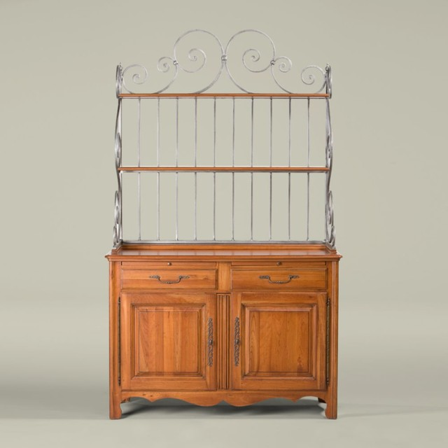 maison by ethan allen geneviève baker's rack buffet cabinet - Traditional - Buffets And ...