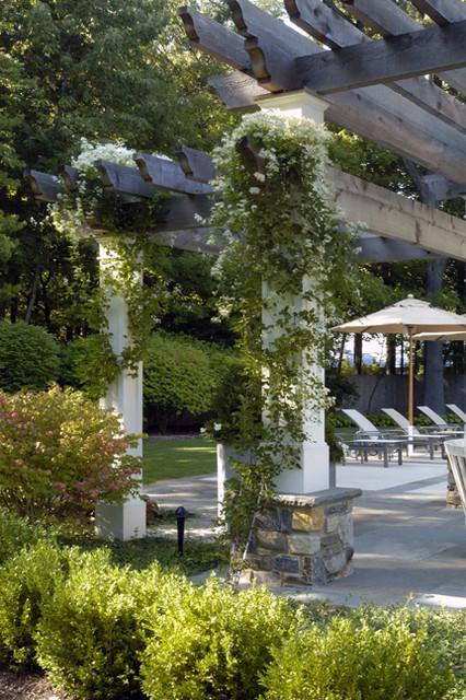 James Martin Associates traditional-patio