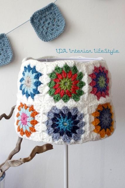 Crochet Lamp traditional-lamp-shades