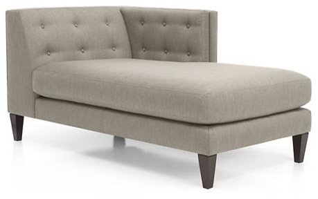 Aidan Right Arm Sectional Chaise Contemporary Indoor Chaise Lounge Chairs