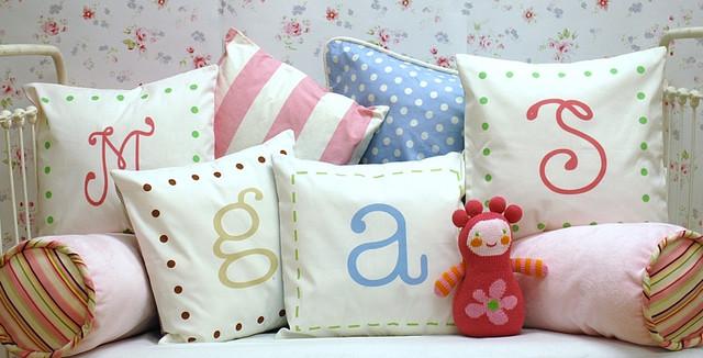 Alphabet Pillows traditional-decorative-pillows