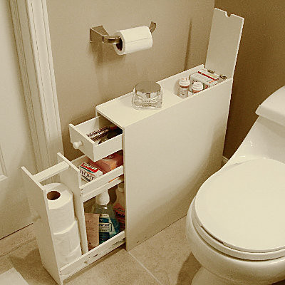 Bathroom floor cabinet contemporary medicine cabinets for Bathroom storage cabinets floor