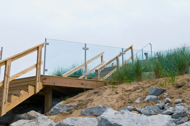 Railings for outdoor spaces contemporary