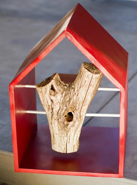 Charity Bird Houses modern birdhouses