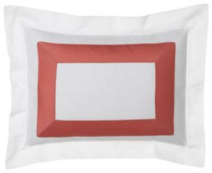 SFERRA Standard New Resort Sham traditional-pillowcases-and-shams