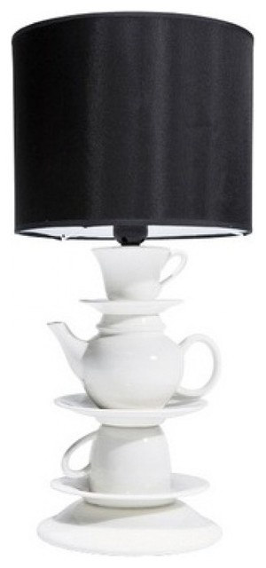 Teatime Table Lamp eclectic-table-lamps