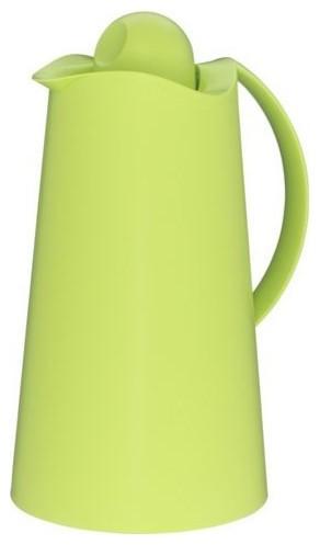 Alfi La Ola Carafe, Apple Green, 8 Cup contemporary-serveware