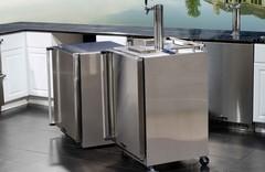 MARVEL Outdoor Refrigeration Lookbook / MARVEL Outdoor Beer Units #keg #stainles