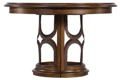 Stanley Archipelago Monserrat Round Pedestal Dining Table Fathom 186-11-30 modern-dining-tables