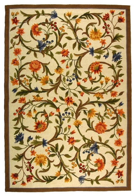 Safavieh Chelsea HK248A Ivory Area Rug asian-carpet-tiles