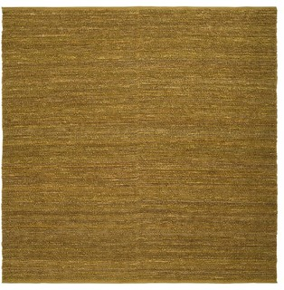 Continental Mossy Gold Square Rug - Contemporary - Rugs - new york ...