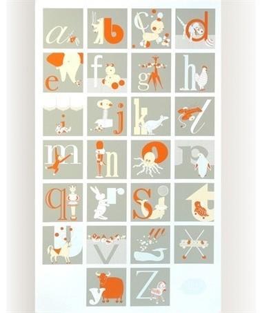 Binth Alphabet Poster modern-kids-decor