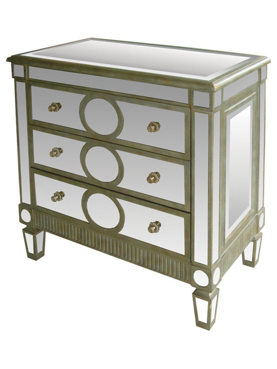 Sterling Industries - Ritz Mirror Chest - Ritz Mirror Chest by Sterling Industries
