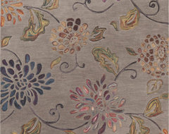 Floral Rugs contemporary-rugs