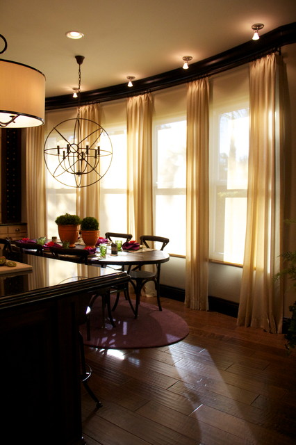 Kitchen Room Interior Design: Lighting A Kitchen And Dining Room