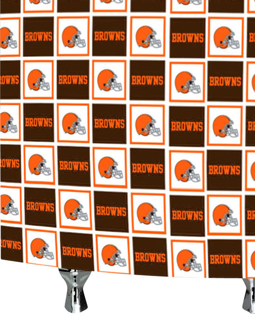 ... Football Bath Accessory - Contemporary - Shower Curtains - by oBedding