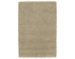 Desert Song 8' x 10' Taupe Rug contemporary-rugs