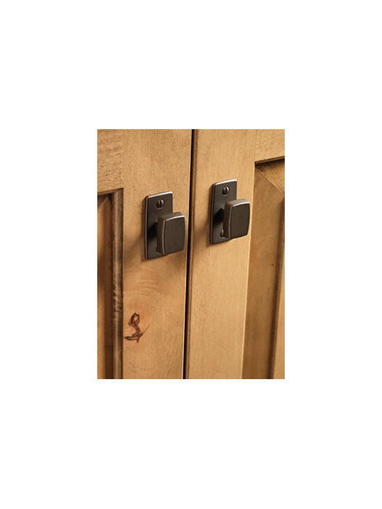 Fordham Knob and Pull - Fordham knobs and drawer pulls continue the industrial flair and are a perfect companion to forged metal door inserts.