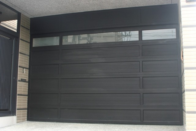 OLeary stacking doors modern garage doors
