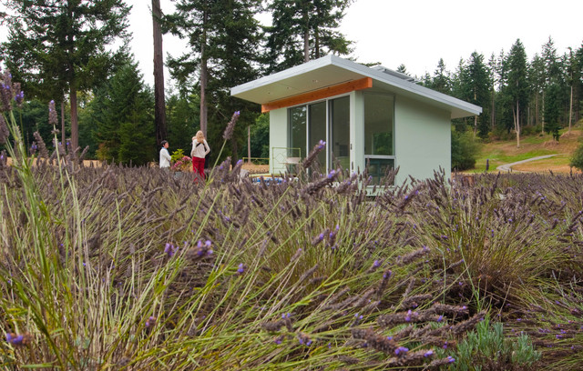 Whidbey Island Potting Shed modern
