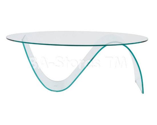 Pandora Clear Glass Coffee Table -