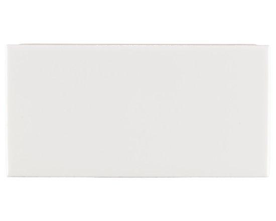 """Ceramic - ANN SACKS Arden 3"""" x 6"""" ceramic field in white"""