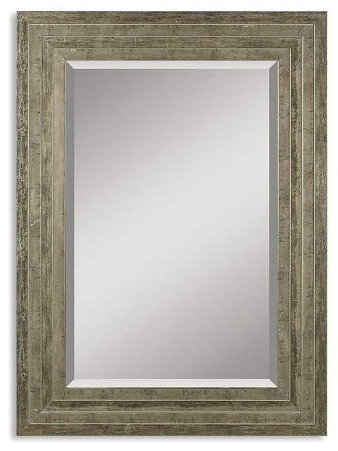 Hallmar Wood Mirror traditional-wall-mirrors
