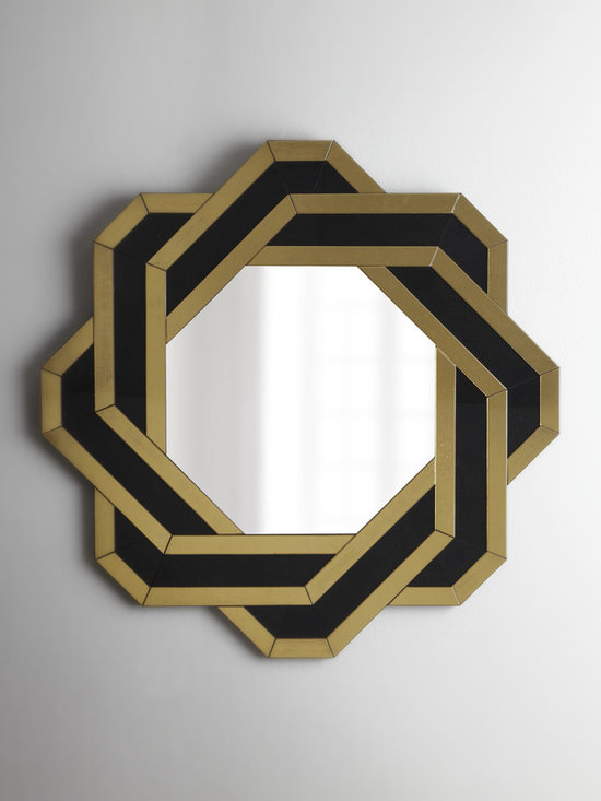 """""""Knot"""" Mirror - Exclusively ours. This unique mirror is perfect for over the vanity and just as stunning in other rooms."""