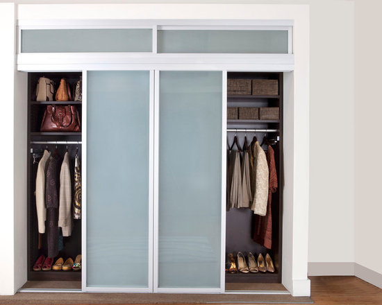 Reach-In Closet Sliding Doors -
