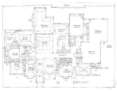 Floor plan review 1st floor aging in place Aging in place floor plans