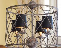 Harlequin Cage Lantern lamp-shades