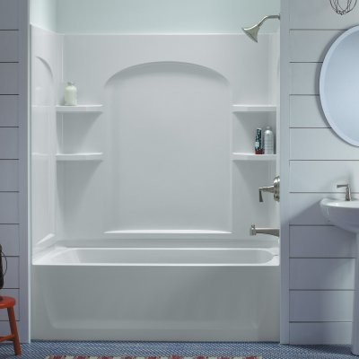 Sterling Ensemble 71220118 60w X 76h In Curve Bathtub