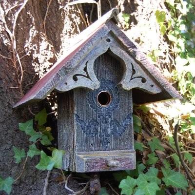 Griffith Creek Designs English Cottage Birdhouse modern-birdhouses