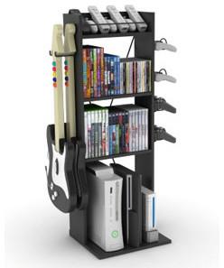 Game Central Video Game Organizer media-storage