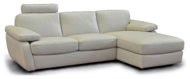 bridge leather sectional by incanto modern loveseats. Black Bedroom Furniture Sets. Home Design Ideas