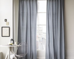 Cotton Canvas Window Panel modern curtains