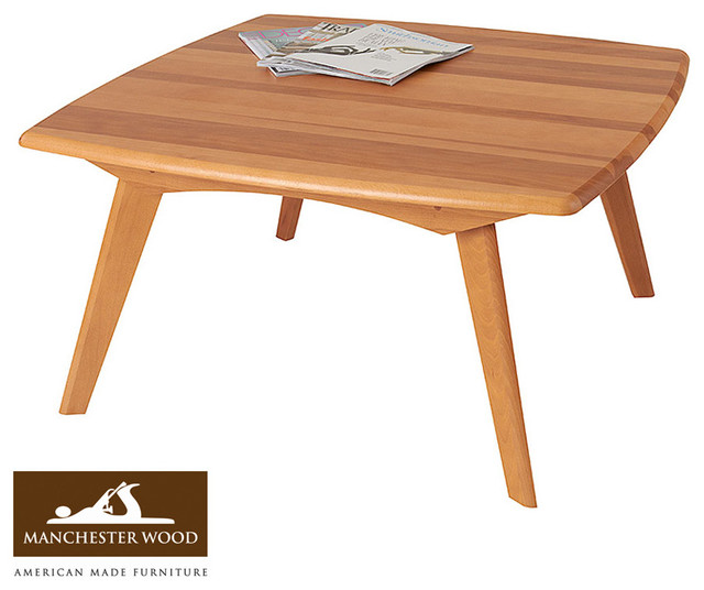 Houzz Black Coffee Table: Retro Square Coffee Table By Manchester Wood