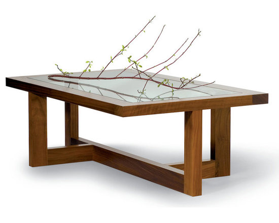 Offset Coffee Table -