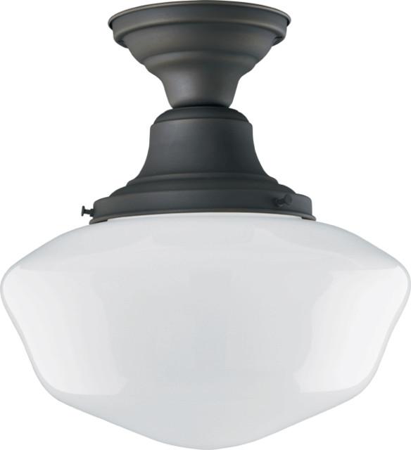 Jefferson Classic Flush Ceiling Fixture traditional-flush-mount-ceiling-lighting