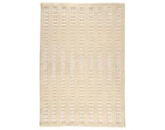 "Merano White Rug - 5'6"" x 7'10"" transitional-rugs"