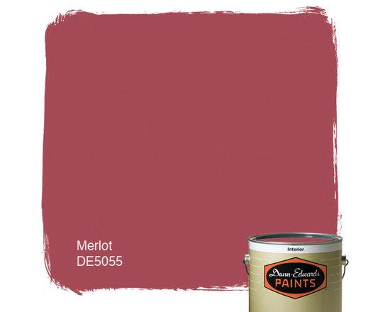 Dunn-Edwards Paints Merlot DE5055 -