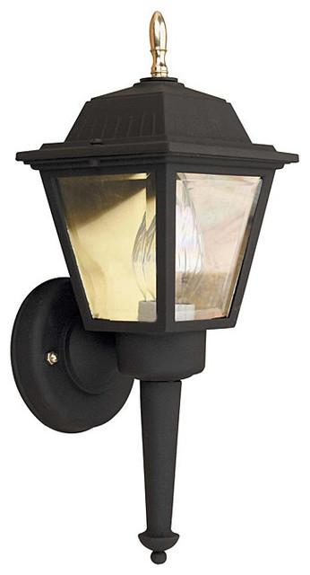aztec lighting transitional black outdoor 1 light wall