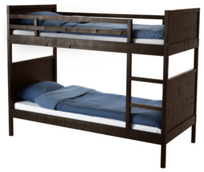 Mydal bunk bed frame ikea the ladder mounts on the right or the left